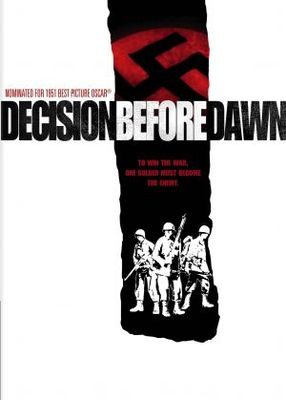 Decision Before Dawn movie poster (1951) poster MOV_f1e87d75