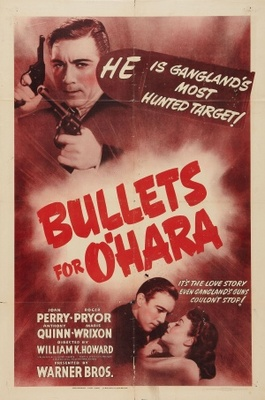 Bullets for O'Hara movie poster (1941) poster MOV_f1f8e025