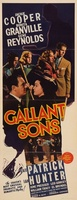 Gallant Sons movie poster (1940) picture MOV_f2136ed1