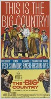 The Big Country movie poster (1958) picture MOV_f21acd31