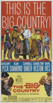 The Big Country movie poster (1958) poster MOV_f21acd31