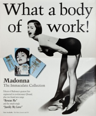 Madonna: The Immaculate Collection movie poster (1990) poster MOV_f21cc97b