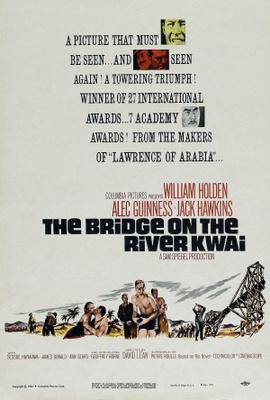 The Bridge on the River Kwai movie poster (1957) poster MOV_f2349ac8