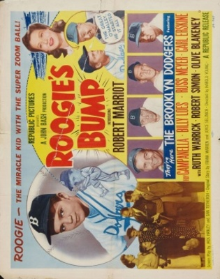 Roogie's Bump movie poster (1954) poster MOV_f2367d24