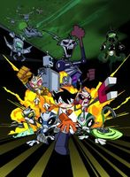 Super Robot Monkey Team Hyperforce Go! movie poster (2004) picture MOV_f2426431