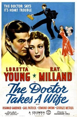 The Doctor Takes a Wife movie poster (1940) poster MOV_f243414e