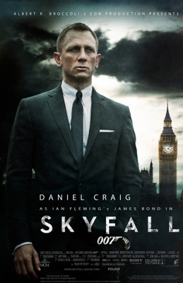 Skyfall movie poster (2012) poster MOV_f24e13b5