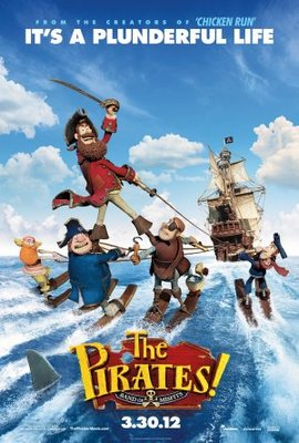 The Pirates! Band of Misfits movie poster (2012) poster MOV_f2615712