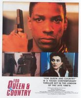 For Queen and Country movie poster (1988) picture MOV_f26dd4ce