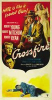 Crossfire movie poster (1947) picture MOV_f26f80ab