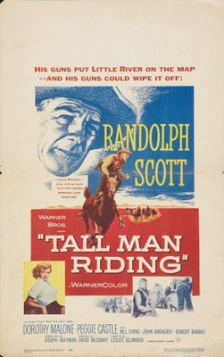 Tall Man Riding movie poster (1955) poster MOV_f2744df7