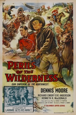 Perils of the Wilderness movie poster (1956) poster MOV_f28314d7