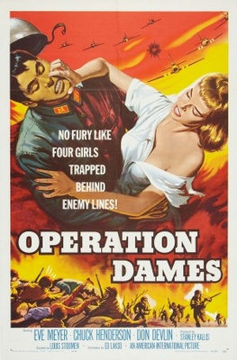 Operation Dames movie poster (1959) poster MOV_f2836c42