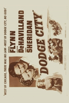 Dodge City movie poster (1939) poster MOV_f29b144e