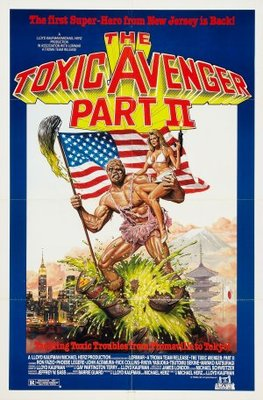 The Toxic Avenger, Part II movie poster (1989) poster MOV_f2a7e1e0