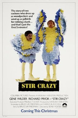 Stir Crazy movie poster (1980) poster MOV_f2b9a0d4