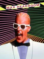 Max Headroom movie poster (1987) picture MOV_f2e42fba