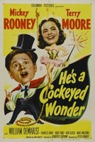 He's a Cockeyed Wonder movie poster (1950) picture MOV_f2f17c3d