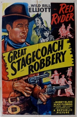 Great Stagecoach Robbery movie poster (1945) poster MOV_f2fa0fa0