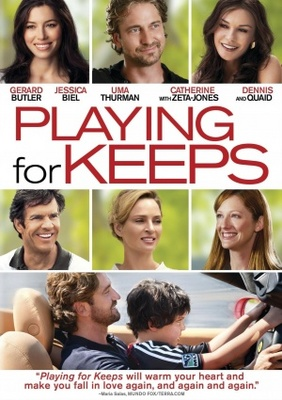 Playing for Keeps movie poster (2012) poster MOV_f2fe586d