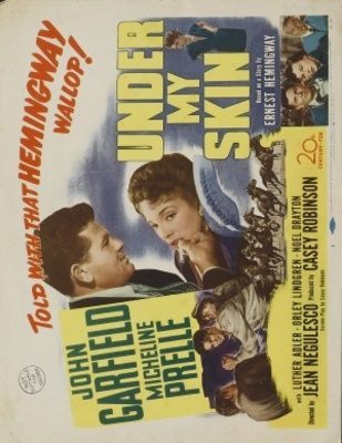 Under My Skin movie poster (1950) poster MOV_f321faa3