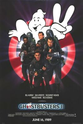 Ghostbusters II movie poster (1989) poster MOV_f328aa44