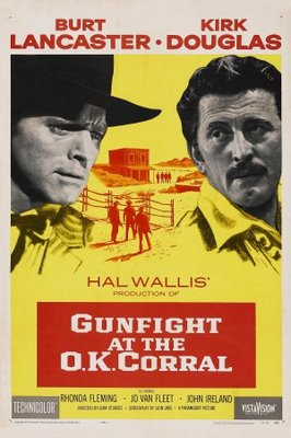 Gunfight at the O.K. Corral Gunfight at the O K Corral movie poster 1957 Poster Buy 266x400 Movie-index.com