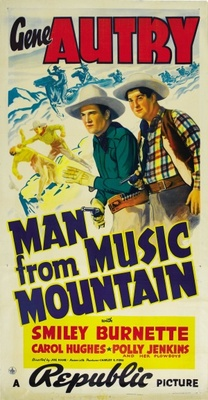 Man from Music Mountain movie poster (1938) poster MOV_f3470dbf