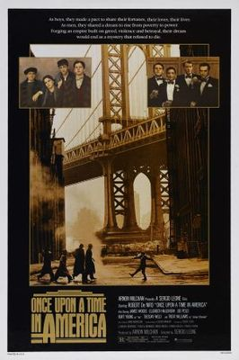 Once Upon a Time in America movie poster (1984) poster MOV_f3508efb