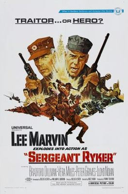 Sergeant Ryker movie poster (1968) poster MOV_f352740f