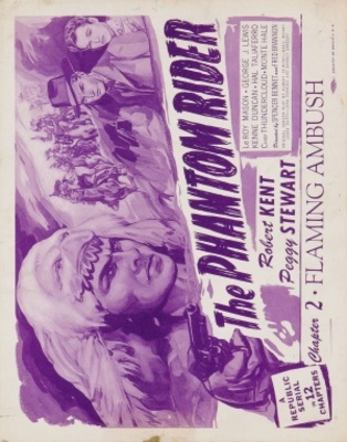 The Phantom Rider movie poster (1946) poster MOV_f370d26e