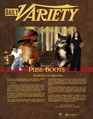 Puss in Boots movie poster (2011) poster MOV_f389c84a