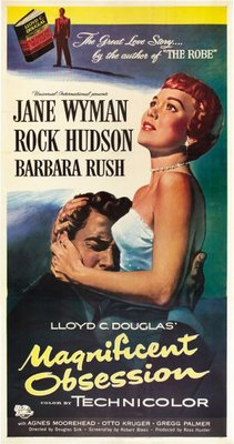 Magnificent Obsession movie poster (1954) poster MOV_f394f92a