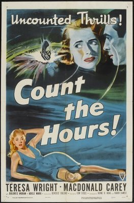 Count the Hours movie poster (1953) poster MOV_f3976a2c