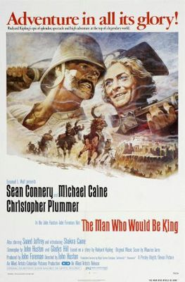 The Man Who Would Be King movie poster (1975) poster MOV_f39bfa5e