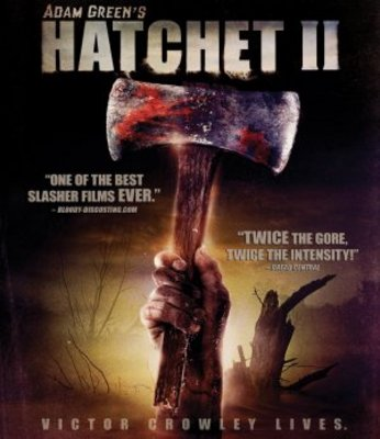 Hatchet 2 movie poster (2009) poster MOV_f3ba910d