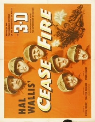 Cease Fire! movie poster (1953) poster MOV_f3e815b1