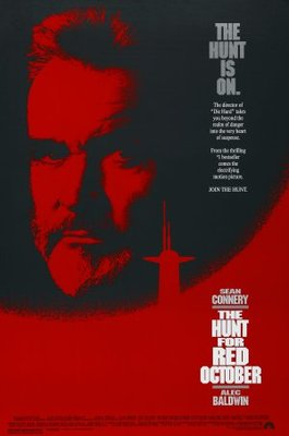 The Hunt for Red October movie poster (1990) poster MOV_f3f24e3c