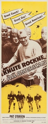 Knute Rockne All American movie poster (1940) poster MOV_f41f1aee