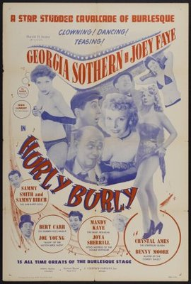 Hurly Burly movie poster (1950) poster MOV_f45f1299