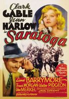 Saratoga movie poster (1937) picture MOV_40bb2ded
