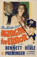 Margin for Error movie poster (1943) picture MOV_f46be678