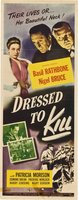 Dressed to Kill movie poster (1946) picture MOV_f46cc8f7
