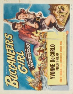 Buccaneer's Girl movie poster (1950) poster MOV_f478ebbe