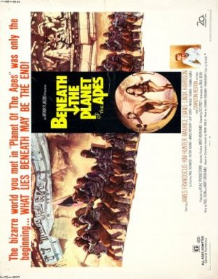 Beneath the Planet of the Apes movie poster (1970) poster MOV_f4815885