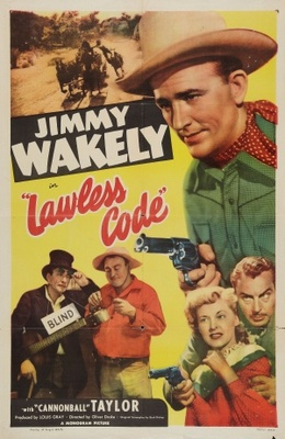 Lawless Code movie poster (1949) poster MOV_f4a6bf0e