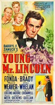 Young Mr. Lincoln movie poster (1939) poster MOV_f4aaa702