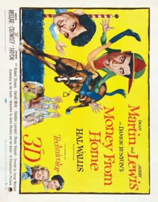 Money from Home movie poster (1953) poster MOV_f4ad68f5