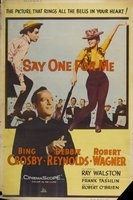 Say One for Me movie poster (1959) picture MOV_f4c57948