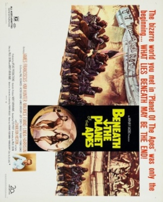 Beneath the Planet of the Apes movie poster (1970) poster MOV_f4c76af5